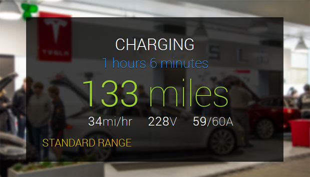 Unofficial Tesla app for Google Glass lets Model S owners find, charge and unlock their car