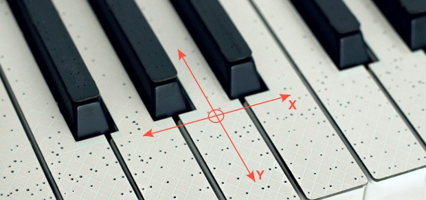 Insert Coin TouchKeys wants to bring multitouch to musicians with stickon keyboard