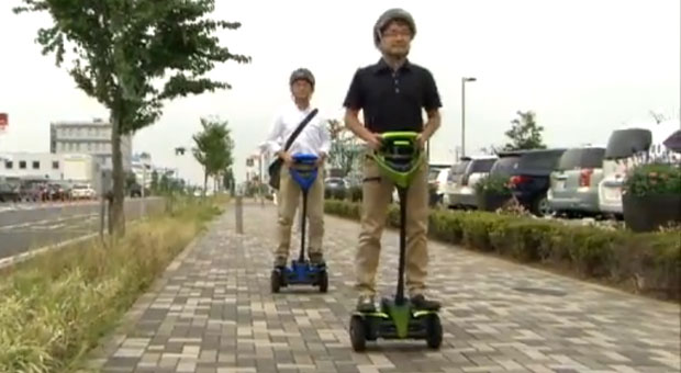 Toyota begins public testing of its Segway killer, reminds us Segway was a thing video