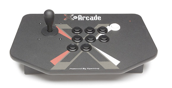 XArcade's rugged Solo Joystick supports PC, Mac, Linux and nine gaming consoles