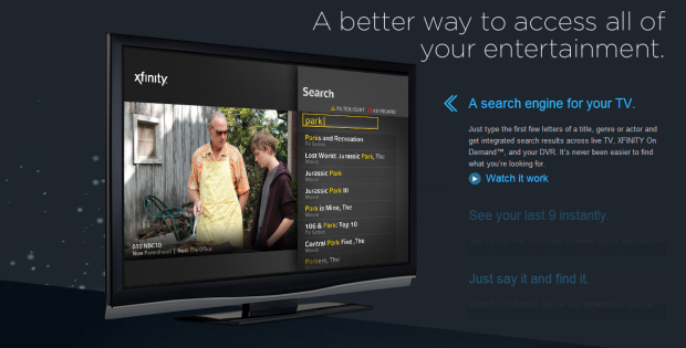 DNP COmcast X1 DVR adds smartphone control, available now in tktktk
