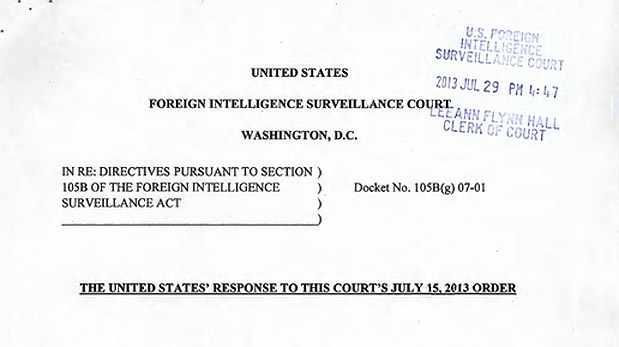 DNP US government will declassify Yahoo FISA documents by September