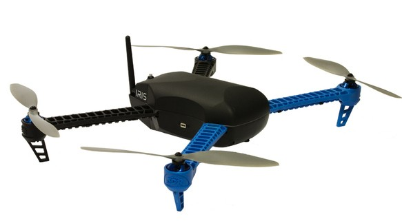 3D Robotics launches Iris quadcopter, for pre-assembled drone action