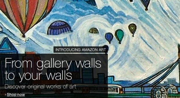 Amazon launches Amazon Art marketplace with over 40,000 works