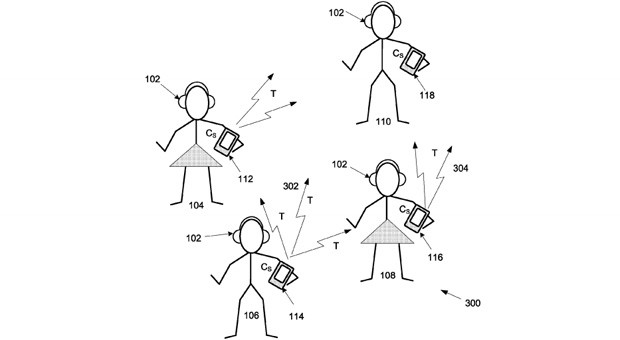 Apple patent shares music tastes with those nearby, starts a private dance party