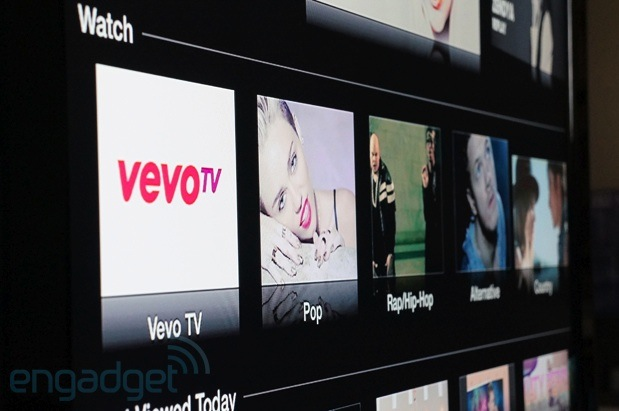 Apple TV update brings Disney, Smithsonian, Vevo and Weather channel apps