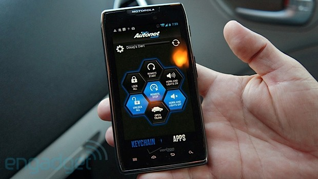 Autonet Mobile puts a new twist on the car key video
