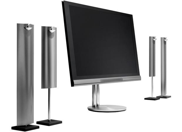 Bang & Olufsen BeoVision 1265 New Generation includes its own 71channel sound module