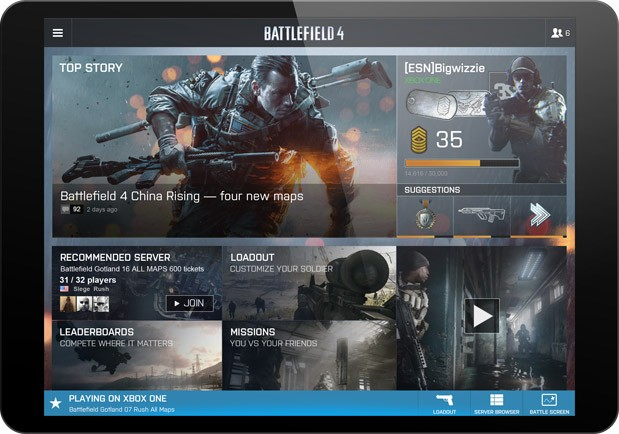 Battlefield 4's Battlescreen map exclusive to nextgen and PC, Battlelog now fully webbased