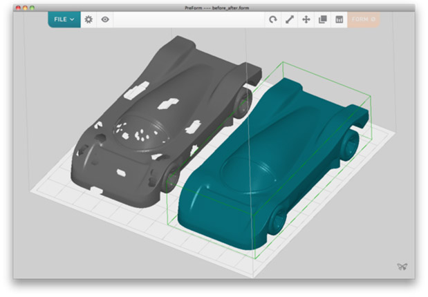 DNP Formlabs launches Mac OS X software for Form 1 3D printer