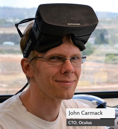 Oculus denies John Carmack stole VR tech from his former employer