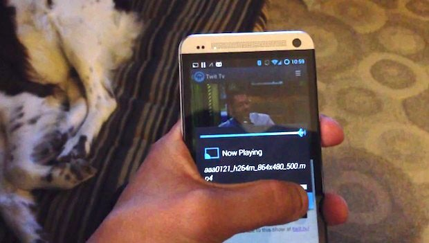 Dev's CyanogenMod tweak sends content from most apps to Chromecast video