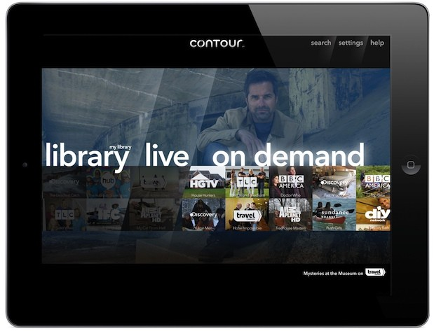 Cox Cable launches personalized Contour experience with iPad app, 2TB 6 tuner DVR