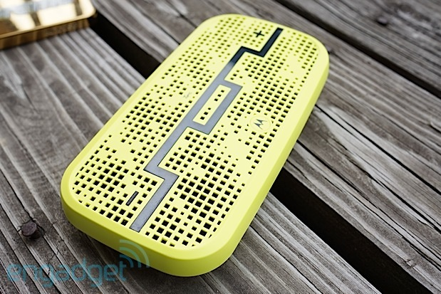 Deck Bluetooth speaker by SOL Republic and Motorola offers 300foot range, fits in a pocket