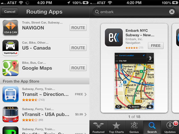 Apple acquires Embark, a transit app company it recommended during the iOS Maps disaster