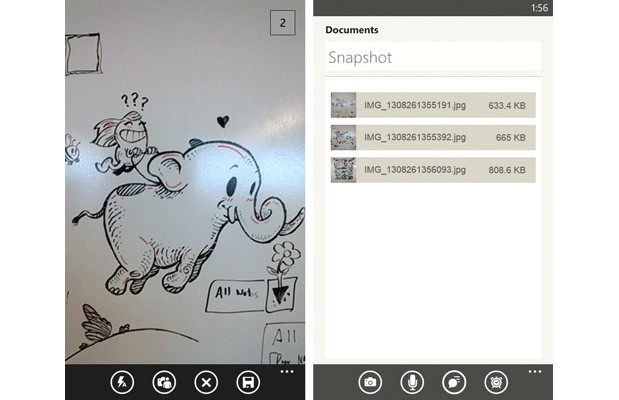 Evernote comes to Windows Phone 8 with multishot camera, speech to text