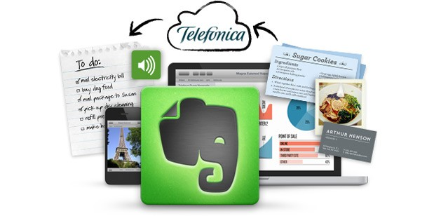 Telefonica pens deal with Evernote to give over 250 million customers one year's free Premium access