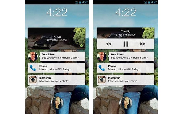 Facebook adds lock screen music controls to Home, animated stickers for all Android users