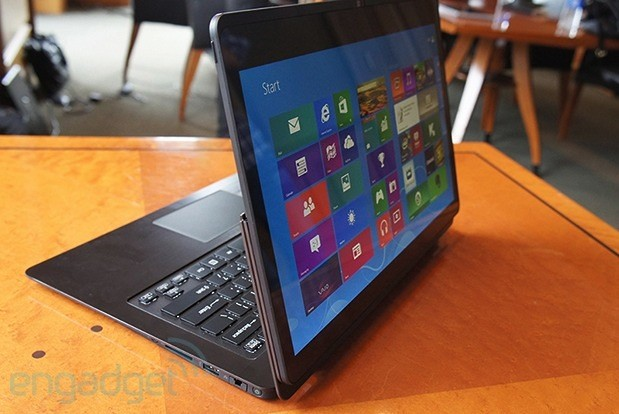 DNP EMBARGO Sony announces VAIO Flip PC, looks to steal the IdeaPad Yoga's thunder