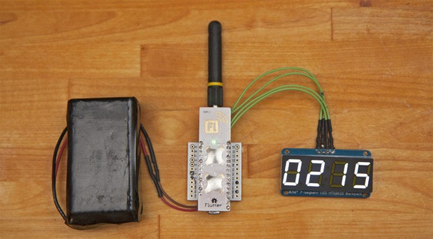 Flutter A $20 wireless Arduino with a long reach