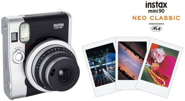 Fujifilm Instax mini 90 keeps instant film alive with retro design
