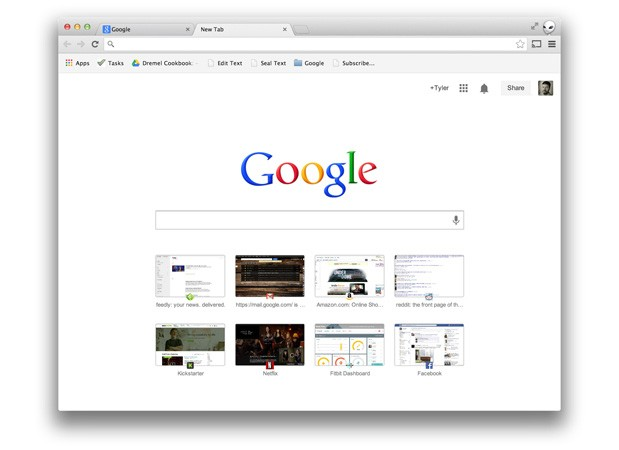 Google now testing searchfriendly tabs in stable versions of Chrome and Chrome OS