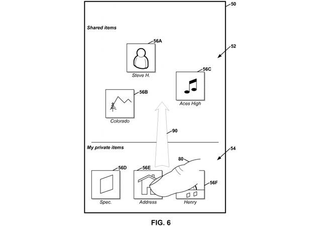 Google patents draganddrop public sharing with nearby mobile users