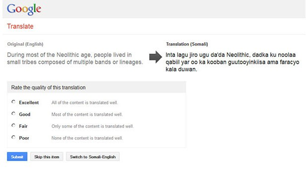 Google to boost its translation skills in Africa, with Somali, Zulu and other languages