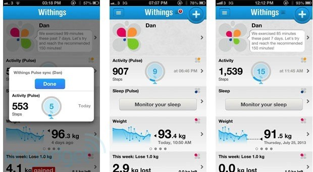 DNP Withings Pulse review