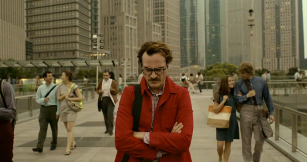 Joaquin Phoenix finds real love with artificial intelligence in Spike Jonze's 'Her' (video)