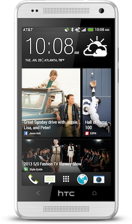 HTC One mini coming to AT&T August 23rd for $100 on contract