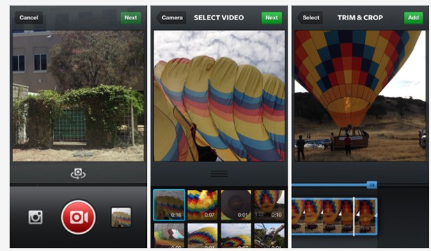 Instagram 41 lets you import videos from your media library