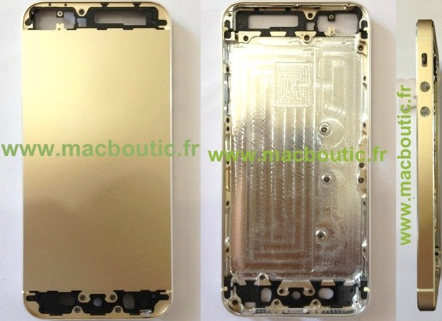 Photos of reported gold-colored iPhone 5S surface
