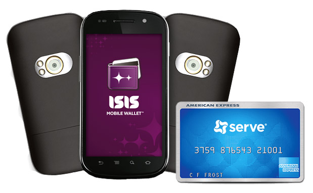 DNP American Express Serve comes to Isis Mobile Wallet