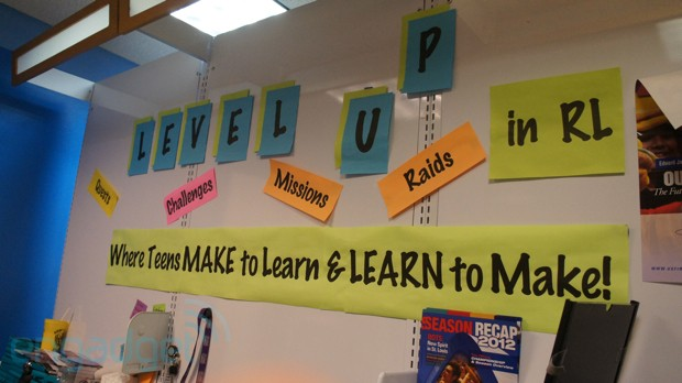Level UP Chicago's mallbased teen maker space