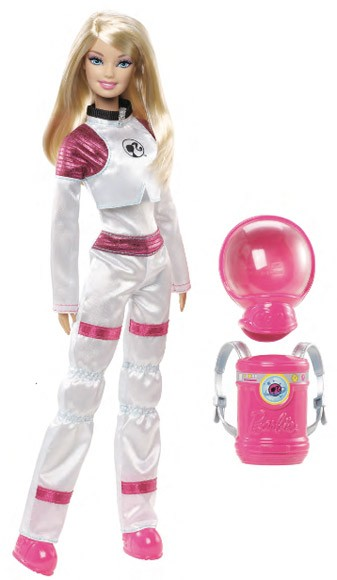 Mars Explorer Barbie yeah, Ken's over the moon for this one