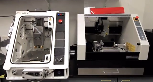 DNP Mebotics hopes to kickstart Microfactory 3D printer  milling machine with crowdfunding