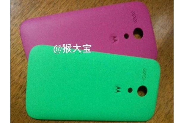 Photo hints lowcost Moto X may rely on swappable back shells, dual SIMs