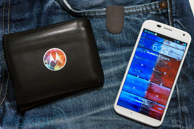 Unlocking Moto X with the Motorola Skip handson video