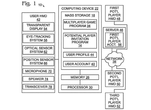 Microsoft multiplayer AR gaming glasses come to light in patent application