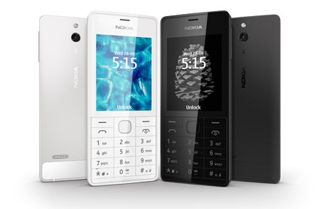 Nokia 515 is an aluminum Series 40 phone for $150