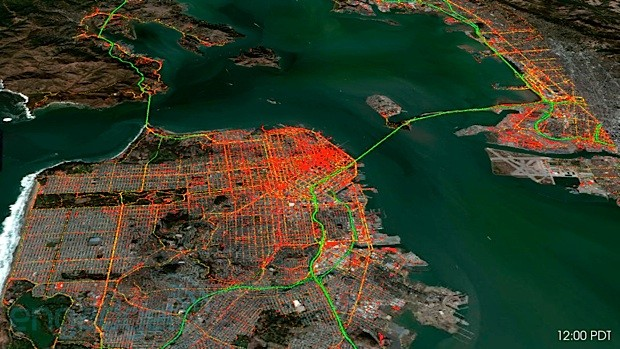 Nokia Here research brings map data to life