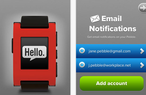 DNP Pebble for iOS finally gets Gmail and other IMAP email notifications