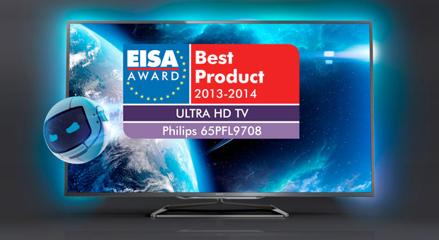 Philips wins award for asyet unannounced 65inch 4K TV