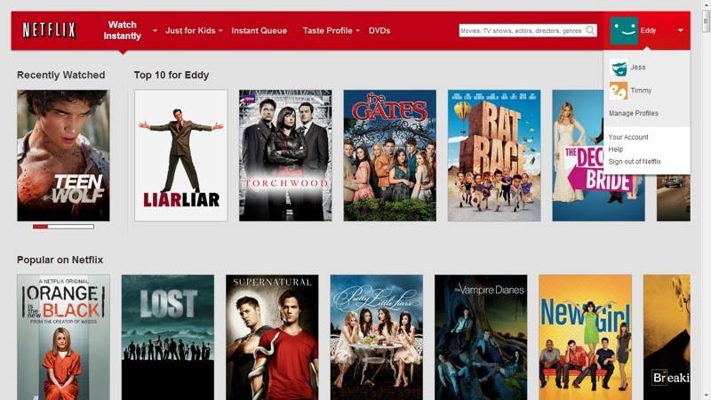 how to add a profile on netflix