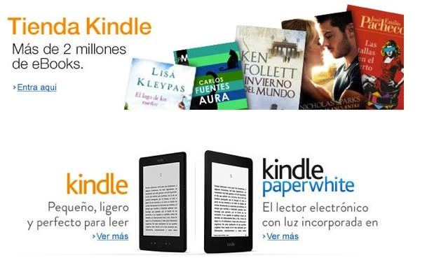 DNP Kindle ebookstore and selfpublishing platform now available in Mexico