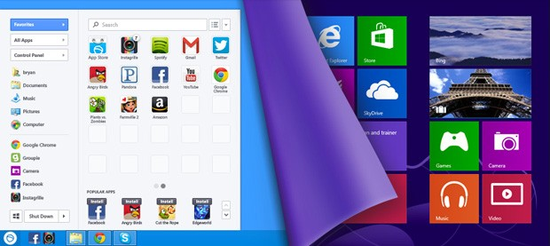 Lenovo's Windows 8 devices to bundle SweetLabs' Start menu revival, app store