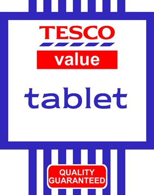 Tesco's reportedly getting into the hardware business with branded tablet