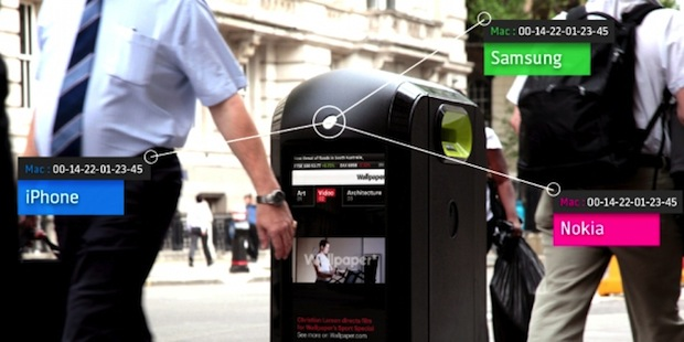 City of London says no to public recycling bins that track smartphones in pedestrian pockets