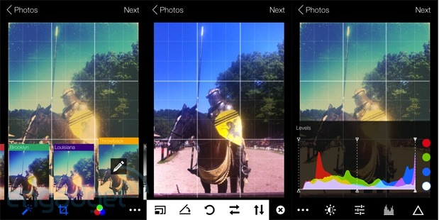 DNP Flickr for iOS update brings new filters, camera features and editing tools